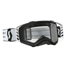 GOGGLE PROSPECT ENDURO BLACK/WHITE CLEAR