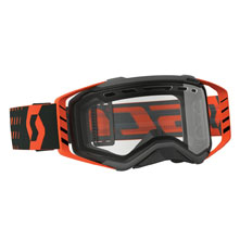 GOGGLE PROSPECT ENDURO BLACK/ORANGE CLEAR