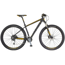 BICICLETA SCOTT ASPECT 930 BLACK/YELLOW (KH)