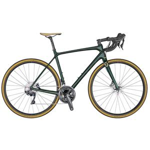 BICICLETA SCOTT ADDICT 10 DISC GREEN