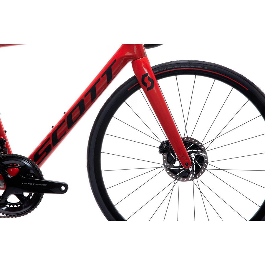 BICICLETA SCOTT ADDICT RC 10 RED