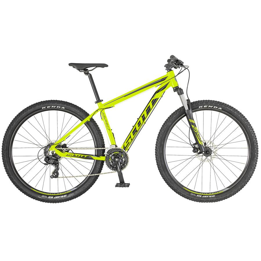 BICICLETA SCOTT ASPECT 960 YELLOW/GREY