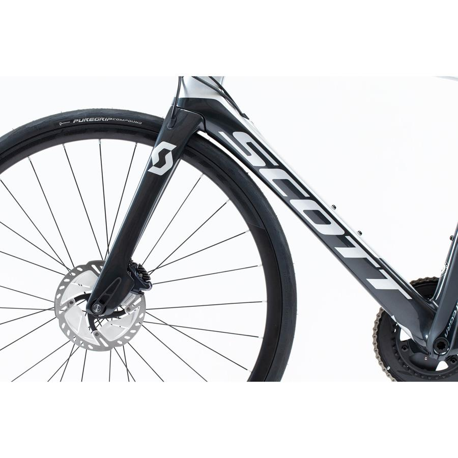 BICICLETA SCOTT FOIL 20 DISC SILVER/BLACK