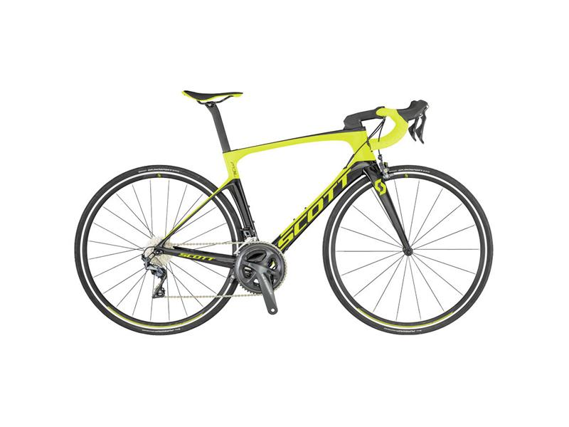 BICICLETA SCOTT FOIL 20 YELLOW/BLACK