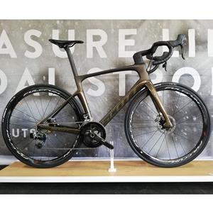 BICICLETA SCOTT FOIL PREMIUM DISC DARK BRONZE SRAM ETAP FULCRUM RACING QUATTRO CARBON DISC