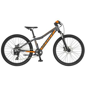BICICLETA SCOTT SCALE 24 DISC ANTHR/ORANGE
