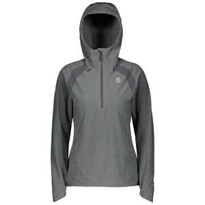 CAMISOLA COM CAPUZ SCOTT SENHORA 1/2 ZIP TRAIL MTN STRETCH 50