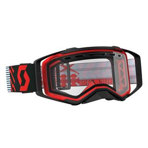GOGGLE PROSPECT ENDURO RED/BLACK CLEAR