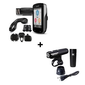 PACK NATAL GPS GARMIN EDGE 820 PACK + LANTERNA CATEYE VOLT 400 SET